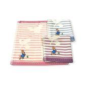 ☆愛兒麗☆彼得兔/比得兔 紗布無捻精鏽小方巾/手帕巾(顏色隨機出貨)PR322-MT
