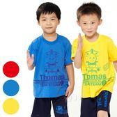 湯瑪士小火車 童彩色短袖T恤 台灣製造-顏色隨機(TH1207)