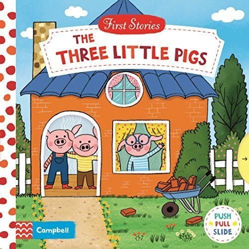 First Stories:The Three Little Pigs 三隻小豬 硬頁拉拉操作書
