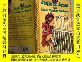 二手書博民逛書店junie罕見b Jones and a little monkey business junie b Jones