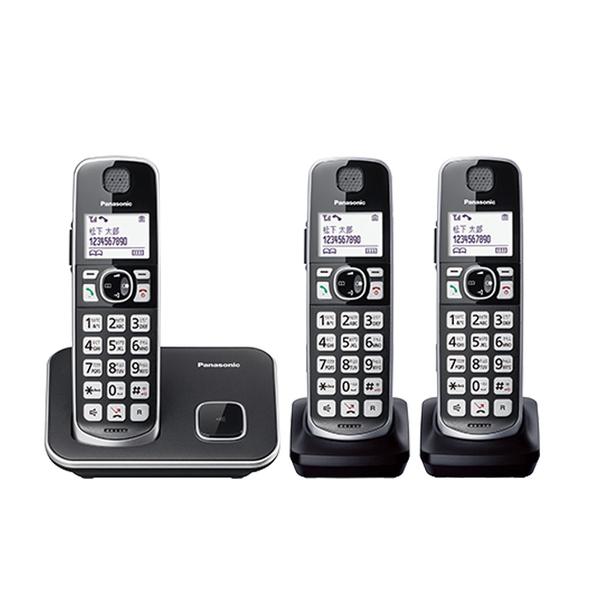 【高士資訊】PANASONIC 國際牌 KX-TGE613TW DECT 數位 三話機 無線電話 TGE613