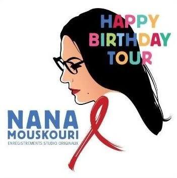 娜娜   生日獻禮 CD Nana Mouskouri  Happy Birthday Tour   (購