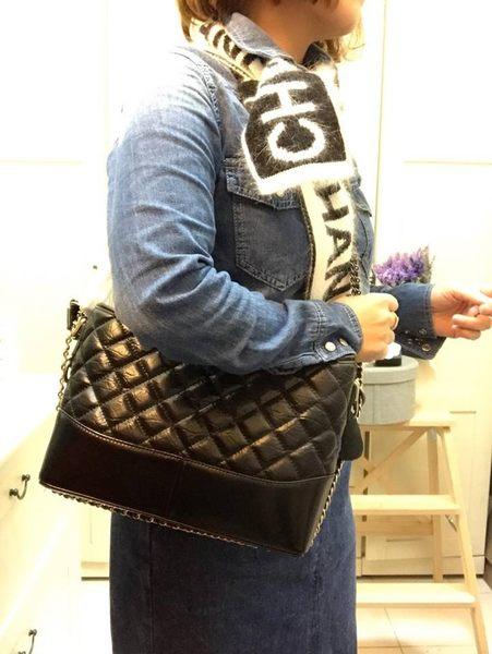 韓國香奈兒小香Chanel流浪包單肩包雙鍊包菱格紋雙色鍊牛皮東大門限量預購特價