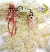 [頑皮豹串珠鑰匙圈 串珠吊飾] 純手工製作 婚禮小物首選 謝客送禮首選