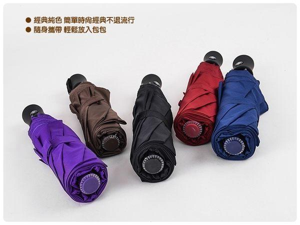 【黑把自動傘】一鍵開啟防紫外線遮陽傘 三折傘 單鍵開收摺疊傘 晴雨傘 高密度傘布折疊傘