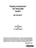二手書博民逛書店《Reading Comprehension Test Taking Skills》 R2Y ISBN:0887244793