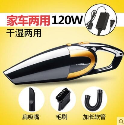 沿途車載吸塵器大功率家車兩用四合一12v汽車強力車內吸塵器車用