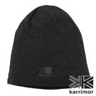 【Karrimor】wool beanie 針織保暖羊毛帽『黑』82304A181 羊毛帽 毛球帽 素色帽 針織帽 毛帽 帽子