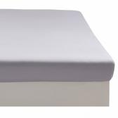 HOLA 雅緻天絲素色床包 單人 淡紫