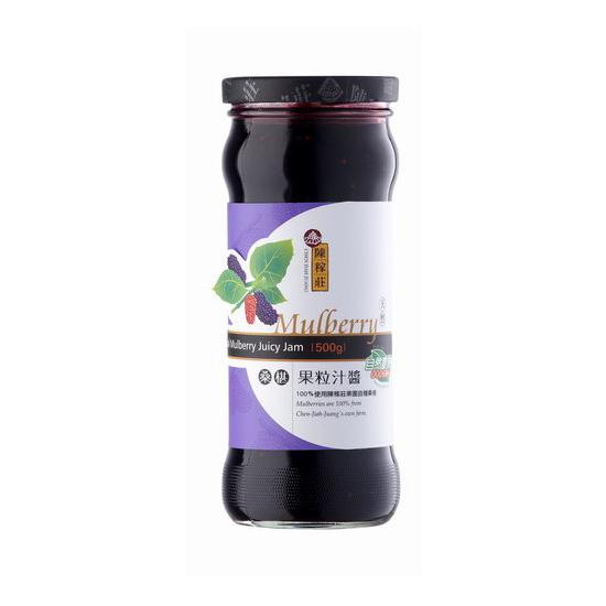 陳稼莊 桑椹果粒汁醬 500g