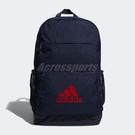 adidas 後背包 Classic Backpack 藍 紅 男女款 三條線 雙肩背 【PUMP306】 DW4266