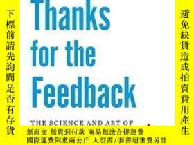 二手書博民逛書店Thanks罕見For The Feedback-謝謝你的反饋Y436638 Douglas Stone; S