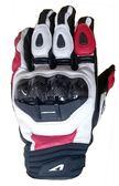 [東門城] ASTONE_LC-01 短款 碳纖維 真皮 防摔手套 通風設計 開放式護具 滑塊設計