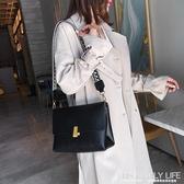 網紅復古女士包包流行新款潮韓版百搭斜背包簡約時尚單肩女包ATF 艾瑞斯生活居家