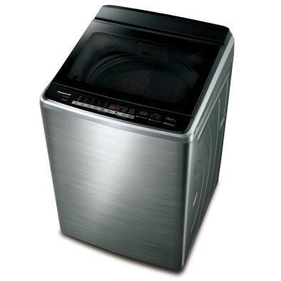 【Panasonic 國際牌】15公斤 NA-V168EBS-S 不鏽鋼 變頻 洗衣機(含基本安裝+舊機回收)