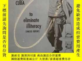 二手書博民逛書店methods罕見and means utilizen in cuba to eliminate illitera