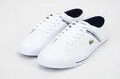 LACOSTE 女鞋 白色 RIBERAC 118 2 CAJ / 人造纖維 鞋款( 35CAJ0022-042) 18A