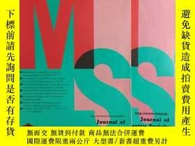 二手書博民逛書店Journal罕見of the Mass Spectrometr