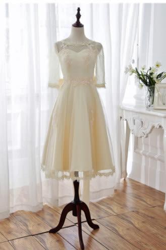 (45 Design)  訂做7天到貨 韓風婚紗禮服  高級訂製服洋裝連身裙團服訂製設計風格禮服 13