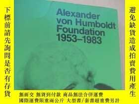 二手書博民逛書店Alexander罕見von Humboldt foundation 1953-1983Y146810 如圖
