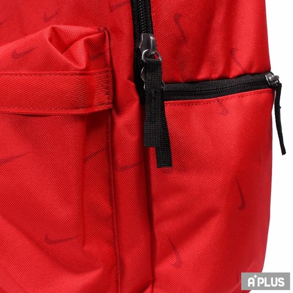 NIKE 後背包 NK HERITAGE BKPK - SWOOSH 登山包 學生包 紅-DC7344657