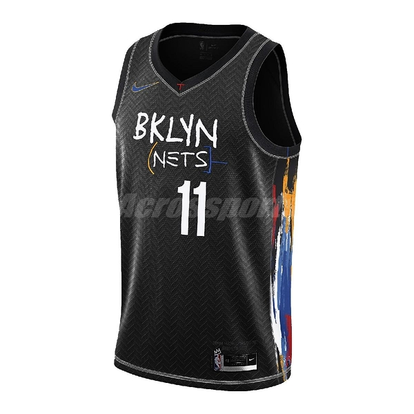 Nike 球衣 Kyrie Irving Brooklyn Nets City Edition 2020 Swingman Jersey 黑 彩 男款 布魯克林 籃網隊【ACS】 CN1713-018