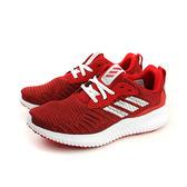 adidas alphabounce rc j 慢跑鞋 運動鞋 避震 針織 紅色 大童 BY3437 no467
