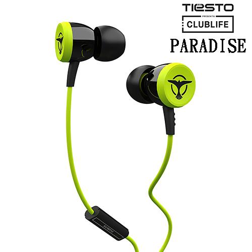Clublife by Tiesto PARADISE (綠色) 耳道式耳機 公司貨保固