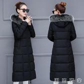 新款羽絨棉服衣女棉衣冬季韓版加厚中長款過膝保暖外套  潮流衣舍