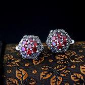 925純銀耳環-鋯石精緻優雅精美花卉生日情人節禮物女飾品2色73nb15【時尚巴黎】