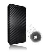 Dapad   HTC U PLAY 卡夢隱扣側掀式皮套
