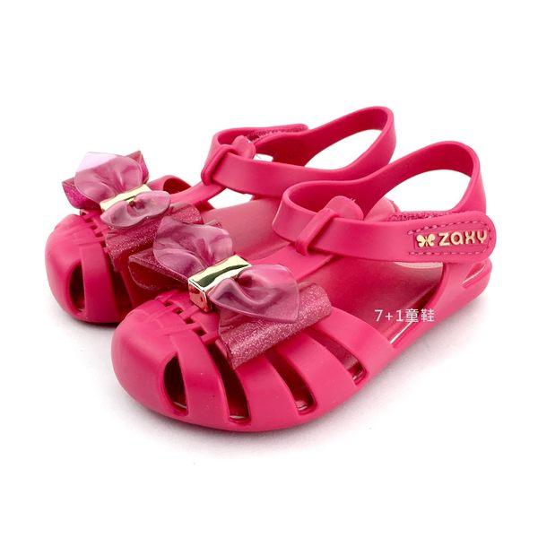 ZAXY 巴西正版香香鞋  百搭通風 淑女涼鞋 《7+1童鞋》D144 桃色
