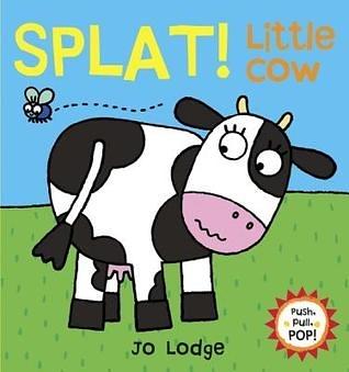 『小動物的伸展操 』 SPLAT! LITTLE COW /幼兒操作書  (知名作家:Jo Lodge的操作書)