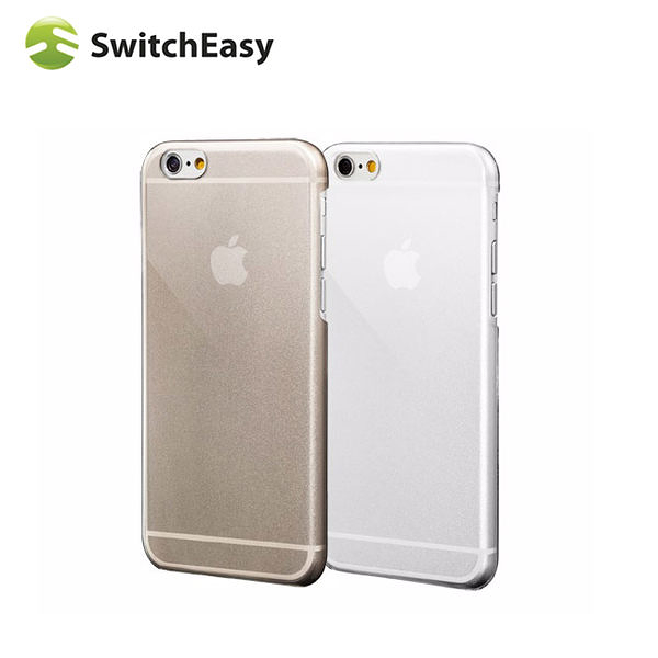 【A Shop】SwitchEasy NUDE iPhone6 透明亮面保護殼-透明(IAPC1111C)