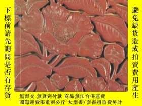 二手書博民逛書店罕見1973年一版《Garner夫婦藏中國漆器》近200幅精美漆