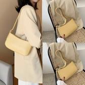 法國小眾小包包女側背包2020新款夏天夏季時尚通勤腋下單肩黃色仙女包潮