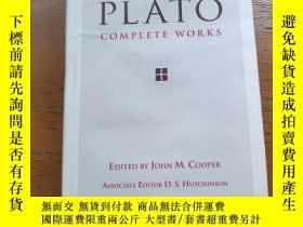 二手書博民逛書店(精裝版)罕見Plato: Complete Works 柏拉圖全集 Edited By John M. Coop