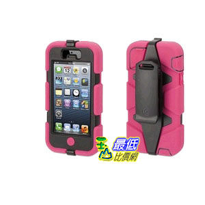 [103 美國直購] Griffin Survivor Case for iPhone 5/5S Retail Packaging - Pink/Black GB35678 手機殼