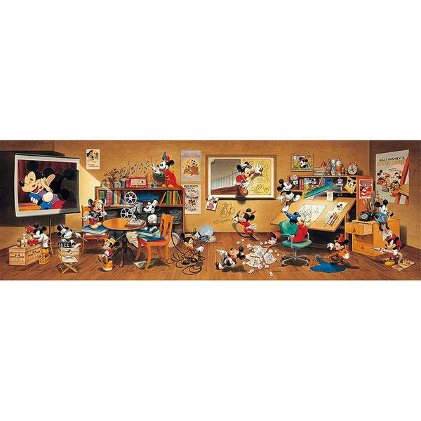 Tenyo拼圖 950片 迪士尼家族 歷代米奇大集合_BF93599