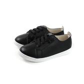 兒童鞋 戶外休閒鞋 黑色 皮質 中童 童鞋 6371-1-99 no066
