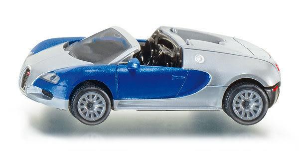 SIKU 德國小汽車 Bugatti Veyron Grand Sport 敞篷車