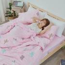 #U098#舒柔超細纖維6x6.2尺雙人加大床包+枕套三件組-台灣製(不含被套)