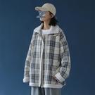 2020新款冬季格子棉衣女寬鬆韓版棉服ins港風學生潮牌羊羔毛外套 雙十一全館免運