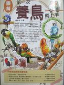 【書寶二手書T1/寵物_OMZ】第一次養鳥就上手_陳雅翎