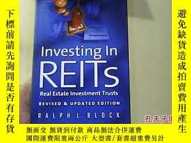 二手書博民逛書店Investing罕見in REITs Real Estate