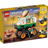 樂高 LEGO 31104 怪獸漢堡卡車