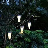 太陽能燈戶外庭院燈家用防水別墅花園草坪燈院子露台裝飾迷你路燈xw
