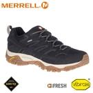 【MERRELL 美國 男 MOAB 2 GORE-TEX多功能鞋《黑色》】ML035485/防水鞋/健行鞋/登山