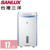 SANLUX 台灣三洋 二級能效17公升除濕清淨機 SDH-170LD