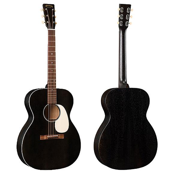 Martin 000-17 Black Smoke 嚴選錫特卡雲杉面板 桃花心木背側面板吉他 - 附琴盒/原廠公司貨